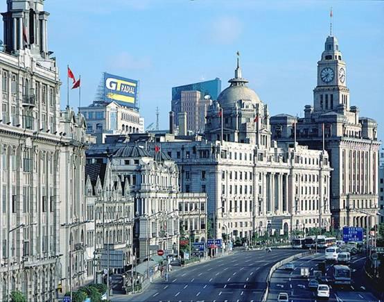İnanması güç, ama bu manzara Shangai'dan.